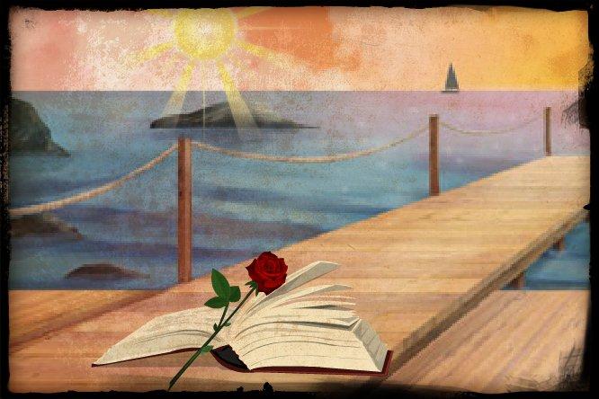 الحياة....الحب....الدموع....الورود.....البحر.... 50027341