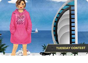 Travel on Tuesdays! -> Dubai