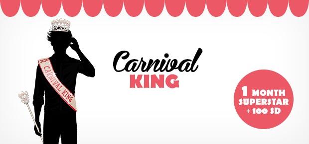 O REI do Carnaval no Stardoll 2020 + Dolls Destaques