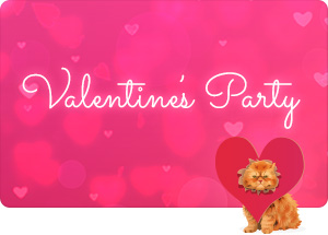 Valentine Party Photo Contest - Free Prize!