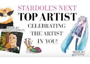 STARDOLL'S NEXT TOP ARTIST: A competição de design para o artista em você!