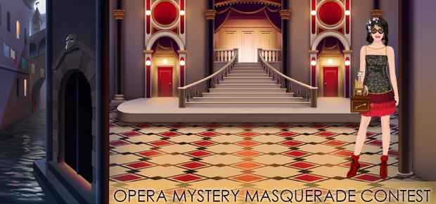 Opera Mystery Masquerade Contest