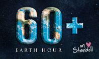 Maak het donker op Earth hour (Uur der Aarde)