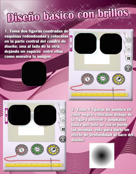 Diseño básico con brillos - Stardoll   Español