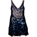Sequin Print Dress
